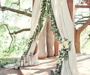 celebration, ceremony, and flowers image