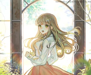 anime, long hair, and pretty image