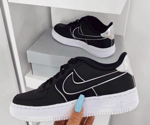 nike, sneakers, and black image