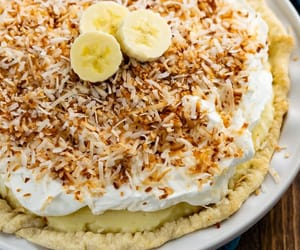coconut, desserts, and food image