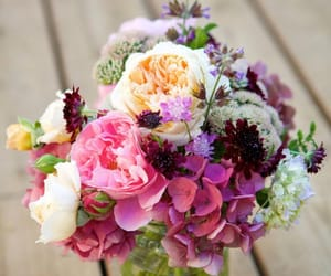april, bouquet, and blooms image
