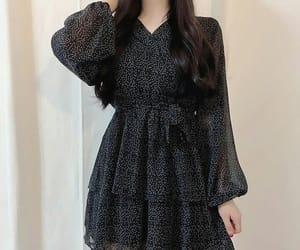 dress, korean fashion, and kfashion image