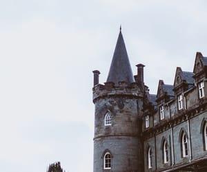 castle, aesthetic, and hogwarts image