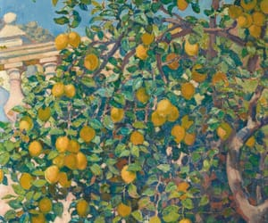 art, art gallery, and lemon image