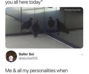 meme, funny, and personality image