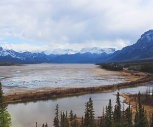 Alberta, canada, and lake image