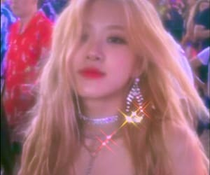 rose, blackpink, and aesthetic image