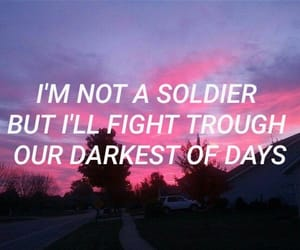 aesthetic, lyric, and soldier image