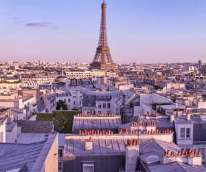 paname, paris, and rooftops image