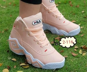 champion, tennis shoes, and Fila image