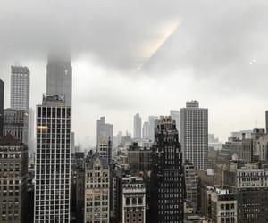 black, city, and new york image