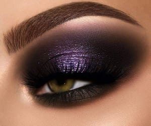 beauty, glam, and lashes image