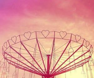 amusement, carousel, and music image