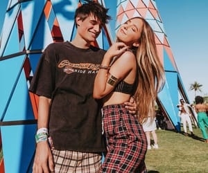 coachella, coachella 2019, and couple image