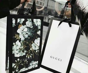 gucci, bag, and shopping image