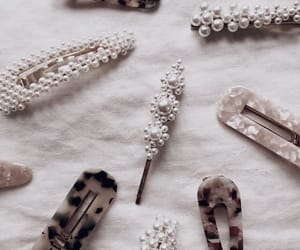 hair accessories and pearls image