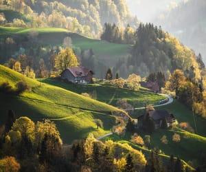 countryside, switzerland, and travel image