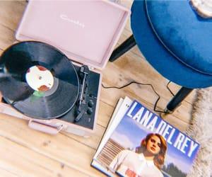 music, vinyl, and crosley image