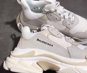 Balenciaga, fashion, and white image