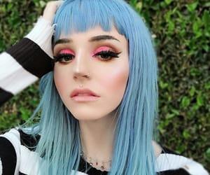 alternative, blue hair, and cabelo azul image