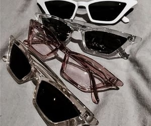 sunglasses, aesthetic, and glasses image