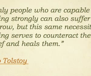 grief, leo tolstoy, and healing image