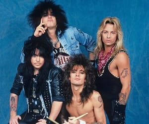 band, motley crue, and music image