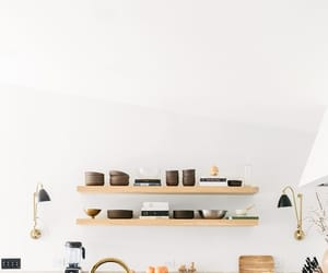 kitchen, home, and marble image