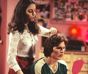 that 70s show, ashton kutcher, and Mila Kunis image