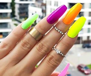 coachella, moda, and manicure image