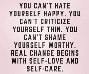 self love, self care, and you just can't image