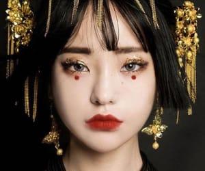 asian and makeup image