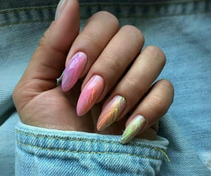 colours, jeans, and nails image