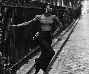 black and white, editorial, and fashion image