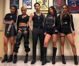 jay park, aomg, and back up dancers image