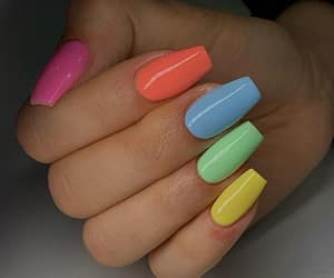 beautiful, colors, and nail polish image