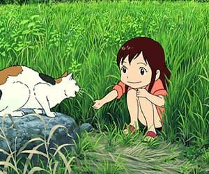 anime, anime girl, and ookami kodomo no image