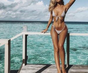 bikini, sun, and Dream image