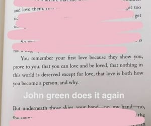 book, john green, and quotes image