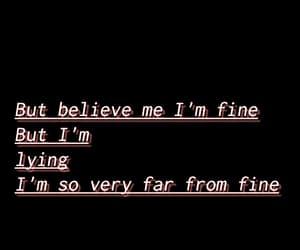 help, sad, and i'm fine image