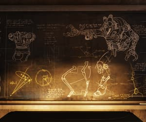 chalkboard, fallout, and cryptid image