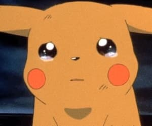 pikachu, pokemon, and sad image
