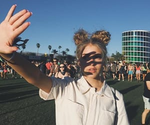 coachella, spring, and summer image