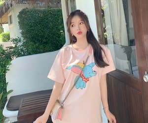 dress, korean fashion, and shirt image