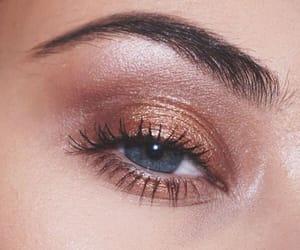 blue eyes, eye makeup, and eyes image