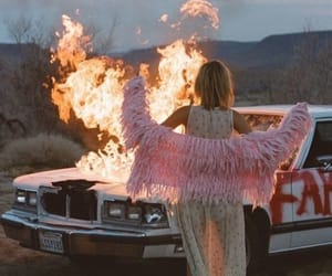 car, fashion, and fire image