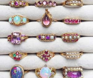 jewelry, rings, and cute image