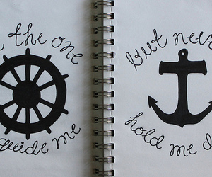 anchor, quote, and tumblr image