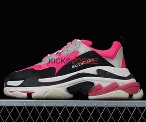 Balenciaga, pink, and balenciaga shoes image