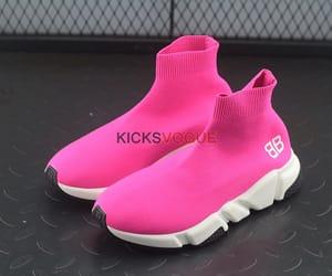 Balenciaga, pink, and balenciaga sneakers image